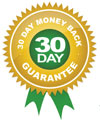 Thirty day money back guarantee.